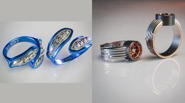 Cincin yang terinspirasi dari brand otomotif dunia