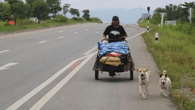 Sakchai akan mendaki gunung demi menepati janjinya kepada sang kekasih/copyright brilio.net/siakapkeli.my