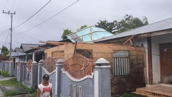 BNPB: 20 Rumah di Talaud Sulawesi Utara Rusak Akibat Angin Kencang