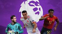 Premier League - David De Gea, Sergio Reguilon, Adama Traore (Bola.com/Adreanus Titus)