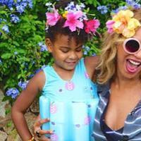 Belum lama ini, Beyonce dan Jay Z baru saja dikaruniai anak kembar. Sempat membuat publik penasaran lantaran pasangan suami istri ini tak kunjung memberi tahu wajah kedua anaknya tersebut. (Instagram/Beyonce)