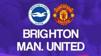 Premier League - Brighton Vs Manchester United (Bola.com/Adreanus Titus)