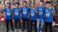 Pemain baru yang diperkenalkan PSIM menghadap putaran kedua Liga 2 2019. (Bola.com/Vincentius Atmaja)