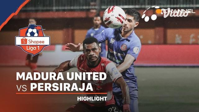 Berita video highlights Shopee Liga 1 2020, Madura United vs Persiraja Banda Aceh yang berakhir dengan skor 0-0 di Stadion Gelora Madura Ratu Pamelingan, Senin (9/3/2020).