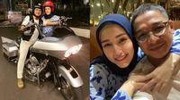 6 Momen Pasha Ungu Ajak Istri Riding Naik Motor Gede, Sangat Antusias (sumber: Instagram.com/adeliapasha)