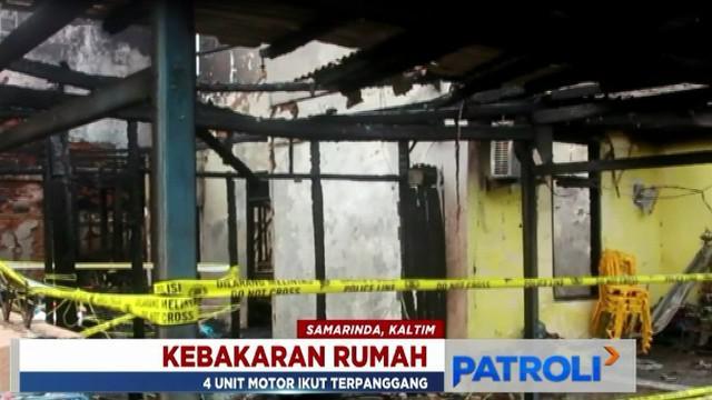 Ketujuh jenazah merupakan korban kebakaran di Perumahan Korpri Loa Bakung, Kecamatan Sungai Kunjang, Samarinda.