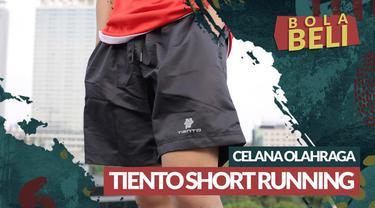 Berita video Bola Beli kali ini mengulas kelebihan dan kekurangan dari produk celana olahraga Tiento Short Running.