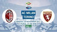 Serie A_AC Milan Vs Torino (Bola.com/Adreanus Titus)