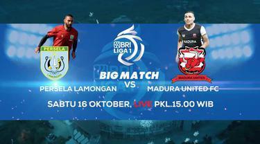 Berita video teaser BRI Liga 1, Persela Lamongan Vs Madura United, Sabtu sore (16/10/21)