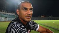 Striker Madura United, Bruno Lopes. (Bola.com/Aditya Wany)