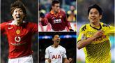 Berikut ini adalah para pemain Asia dari Jepang dan Korea Selatan yang mampu bersaing bahkan berhasil meraih kesuksesan di kerasnya kompetisi Eropa. (Foto Kolase AP dan AFP)