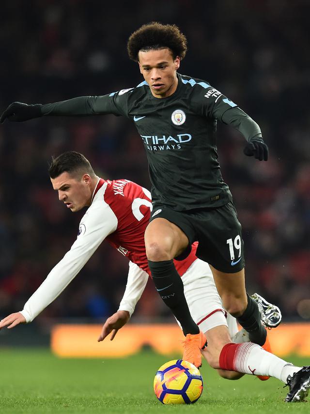 Manchester City Menang Telak di Markas Arsenal