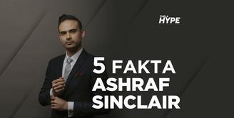 5 Fakta Ashraf Sinclair yang Meninggal karena Serangan Jantung