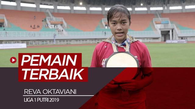 Berita video gelandang Persib Bandung, Reva Oktaviani, mengungkapkan kunci keberhasilannya meraih gelar pemain terbaik Liga 1 Putri 2019.