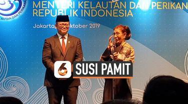 Susi Pudjiastuti tidak masuk dalam jajaran Kabinet Indonesia Maju. Warganet merespons hal itu dengan unggahan sedih di media sosial dan menjadi trending.