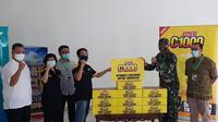 Kick off Joss C 1000 ditandai dengan menyerahkan bantuan produk tersebut di dua rumah sakit rujukan Covid-19 di Jakarta, yaitu Rumah Sakit Darurat (RSD) Wisma Atlet, Kemayoran dan Rumah Sakit Penyakit Infeksi (RSPI) Sulianto Saroso, Jakarta Utara, pada Jumat (29/5).