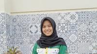 Alvianty, Peserta Beasiswa Cendekia BAZNAS Raih Juara 1 Business Plan Competition 2021.