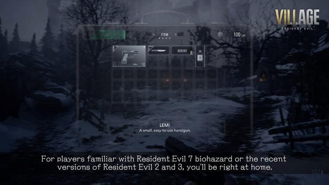 Resident Evil 8 Village. (Doc: Capcom)