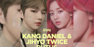 Penyebab Kang Daniel dan Jihyo TWICE Putus