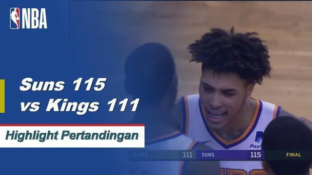 Kelly Oubre Jr memimpin Phoenix untuk kemenangan kembali atas Sacramento, mengucurkan 26 poin dan lima rebound.