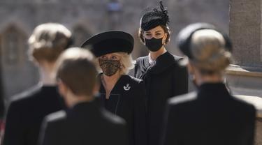 Pesona Kate Middleton di Pemakaman Pangeran Philip