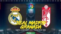 La Liga - Real Madrid Vs Granada (Bola.com/Adreanus Titus)