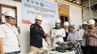 Peresmian Jaringan Gas Bumi untuk Rumah Tangga di Kabupaten Pasuruan dan Probolinggo Tahun Anggaran 2019.