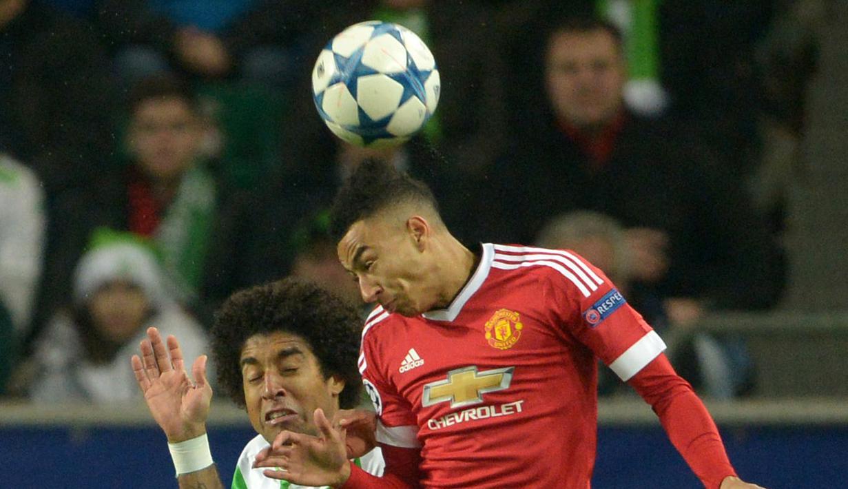 Manchester United Kalah Di Kandang Wolfsburg 2 3 Foto Bola