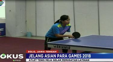 Berita video soal target cabang olahraga tenis meja dan anggar di Asian Para Games 2018. (Fokus Indosiar)