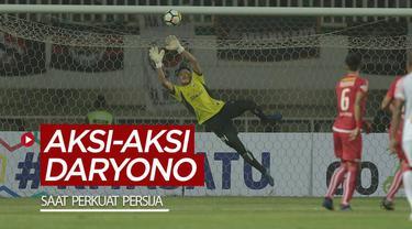 Berita video mengenang Daryono dengan aksi-aksi gemilangnya saat memperkuat Persija Jakarta.