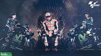 Duel Para Kandidat Juara MotoGP (Bola.com/Adreanus Titus)