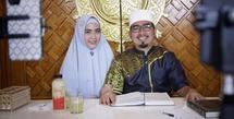 April Jasmine dan Ustaz Solmed (Instagram/apriljasmine85)