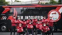 Kontingen Indonesia untuk cabang Para Atletik akan bertolak ke Jepang untuk mengikuti Paralimpiade Tokyo 2020, Jumat (20/8/2021). (Istimewa)