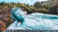 Kuil Nanzoin di Fukuoka, Jepang (Dok.Unsplash/Roméo A)