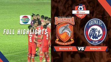 Berita video highlights Shopee Liga 1 2019 antara Borneo FC melawan Arema FC yang berakhir dengan skor 2-0, Rabu (22/5/2019).