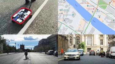 Seniman Ubah Jalan Raya yang Lancar Jadi Macet di Google Maps