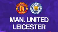 Liga Inggris: Manchester United vs Leicester. (Bola.com/Dody Iryawan)