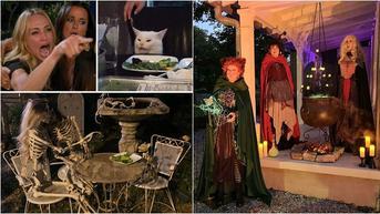 7 Dekorasi Rumah untuk Halloween Ini Bikin Merinding, Bak Film Horor
