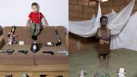 Anak-anak dari tiap negara memiliki mainan yang berbeda tergantung bagaimana keluarga mereka