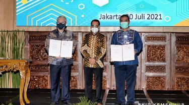 Kemenhub menandatangani skema Kerja Sama Pemerintah dan Badan Usaha (KPBU) untuk  pembangunan Pelabuhan Anggrek di Kabupaten Gorontalo Utara.