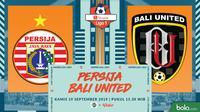 Shopee Liga 1 - Persija Jakarta Vs Bali United (Bola.com/Adreanus Titus)
