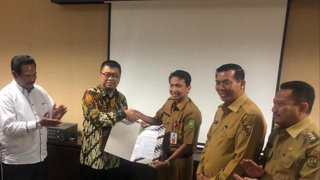 SK Penetapan Pemenang Pengadaan Badan Usaha Kerjasama Lintas Kota Pekanbaru-Kabupaten Kampar.