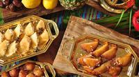 AYANA Midplaza Jakarta menyajikan beragam menu berbuka selama bulan puasa dengan sentuhan khas Arab (Liputan6/pool/AYANA Midplaza Jakarta)