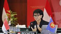 Menlu Retno Marsudi menekankan bahwa bagi Indonesia, Myanmar adalah rumah bagi saudara-saudara Rohingya, dan menilai bahwa mereka harus terus dilindungi (Kemlu)