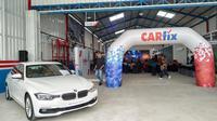 Bengkel mobil Carfix Cirebon. (ist)