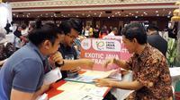 Wonderful Indonesia, meraih sukses besar di Brunei Travel Fair 2018. Publik Brunei dibuat terpikat dengan destinasi Surabaya dan Jawa Timur.