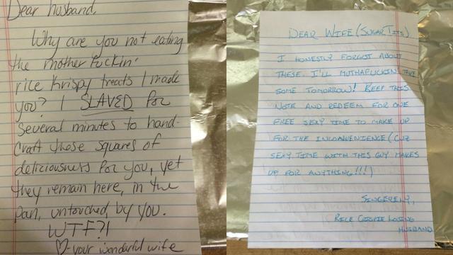 Surat Cinta Aneh Suami Istri Ini Dianggap Romantis Padahal