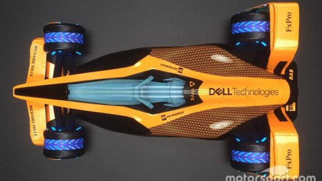 Begini Wujud Ekstrim Jet Darat McLaren Untuk Masa Depan (Foto: Motorsport.com)