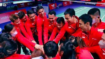 VIDEO: Libas Rusia, Indonesia Lanjut Hadapi Kanada di Sudirman Cup 2021