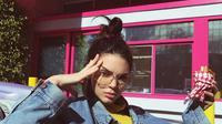 Kendall Jenner pun mengaku bahwa hal itulah yang membuatnya stres dan mengalami anxiety. (instagram/kendalljenner)